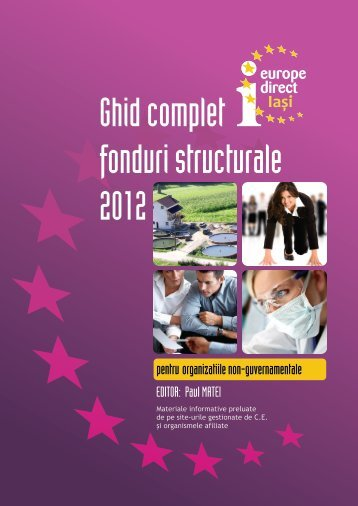 Ghid complet fonduri structurale 2012-ONG