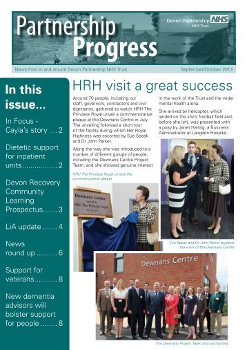 In this issue... - Devon Partnership NHS Trust