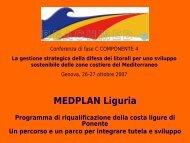 Interreg IIIC – Projet Beachmed-e mesure 3.1: La bande côtière ...
