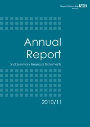 and Summary Financial Statements - Devon Partnership NHS Trust