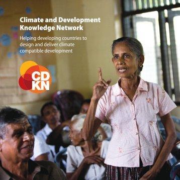 Our brochure - CDKN Global