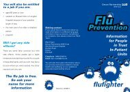 Flu - Devon Partnership NHS Trust