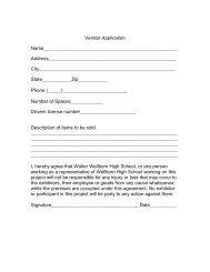 Vendor Registration - Calhoun County Schools