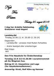 20.8.2013 - Vidaråsen