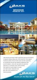 BROOME - Oaks Hotels & Resorts