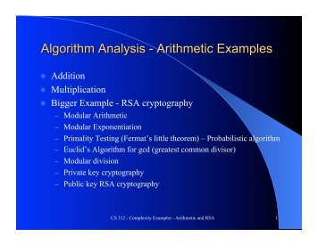 Modular Arithmetic and Primality