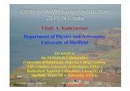 Results from ZEPLIN-II