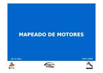 MAPEADO DE MOTORES