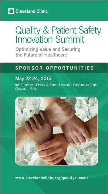 Quality & Patient Safety Innovation Summit