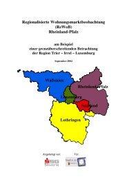Lothringen Wallonien Luxemburg Rheinland- Pfalz ... - ReWoB