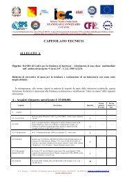 Allegato A (Capitolato Tecnico) - Cannizzaro