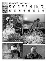 Winter 2013 - Ojai Film Society