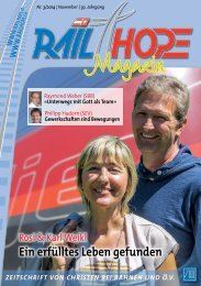 RailHope Magazin 3/2014