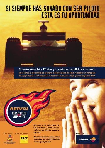 Repsol Racing for Spain - Real Federación Española de ...