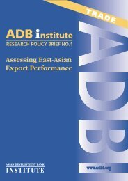 Download this Paper/Presentation - Asian Development Bank Institute