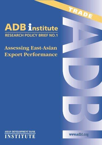 Download this Paper/Presentation - Asian Development Bank Institute