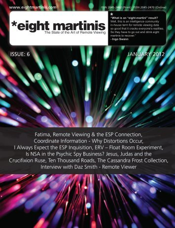 Download now! - Eight martinis is a magazine