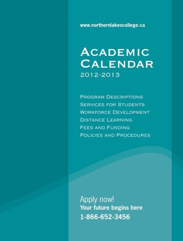 NLC Calendar - Northern Lakes College