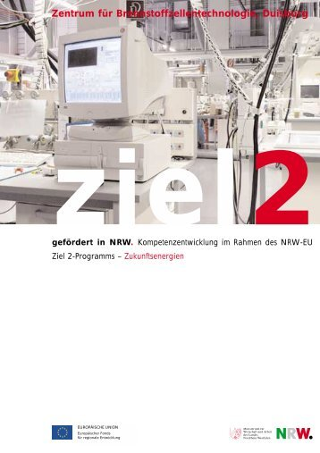Weitere Projektinformationen - NRW-EU Ziel 2-Programm 2000 - 2006