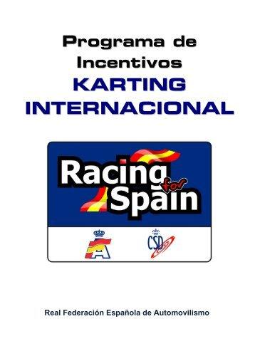 descarga dossier karting racing for spain - Real Federación ...
