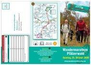 Wandermarathon - Info-Flyer - Zentrum Pfälzerwald