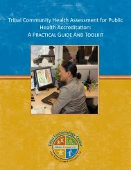 Front Cover and Acknowledgements - Inter Tribal Council of Arizona ...