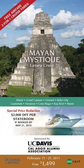 mayan mystique mayan mystique - Cal Aggie Alumni Association ...