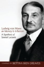Ludwig von Mises on Money and Inflation.pdf - The Ludwig von ...