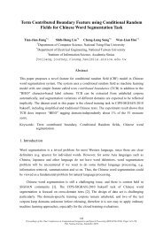 Term Contributed Boundary Feature using ... - Academia Sinica