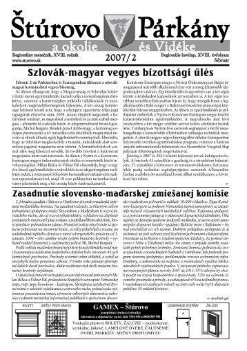 és Vidéke a okolie - Mesto Štúrovo