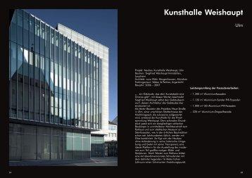 Kunsthalle Weishaupt - FKN-GRUPPE