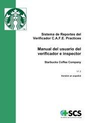 Manual del usuario del verificador e inspector - SCS Global Services