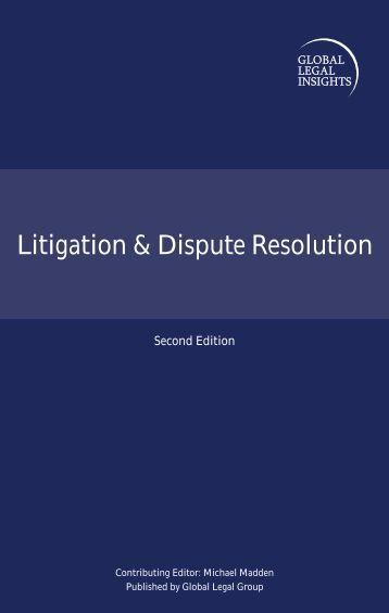 Litigation & Dispute Resolution - Collas Crill