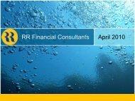 RR Corporate Presentation - 14.04.10.pdf - RR Financial Consultants