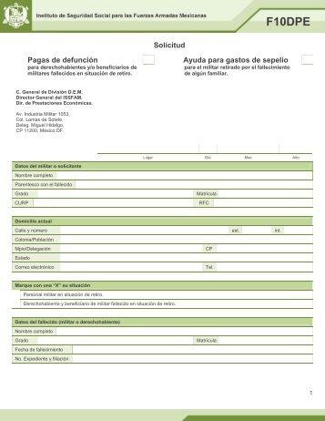 F10DPE - Issfam