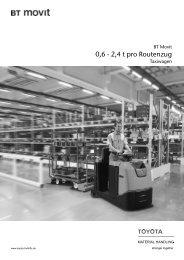 Routenzug BT Movit Taxiwagen - Toyota Material Handling ...