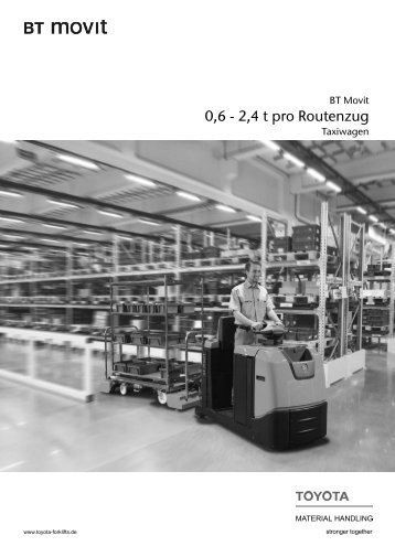Routenzug BT Movit Taxiwagen - Toyota Material Handling ...