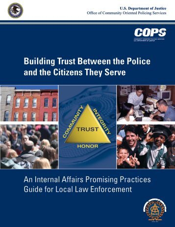 Building Trust Between the Police and the Citizens They Serve