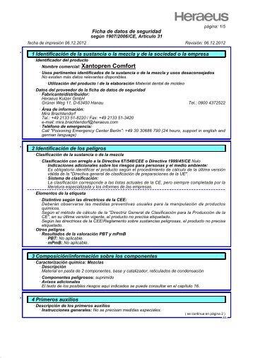 FDS Xantopren Comfort ESP - DVD