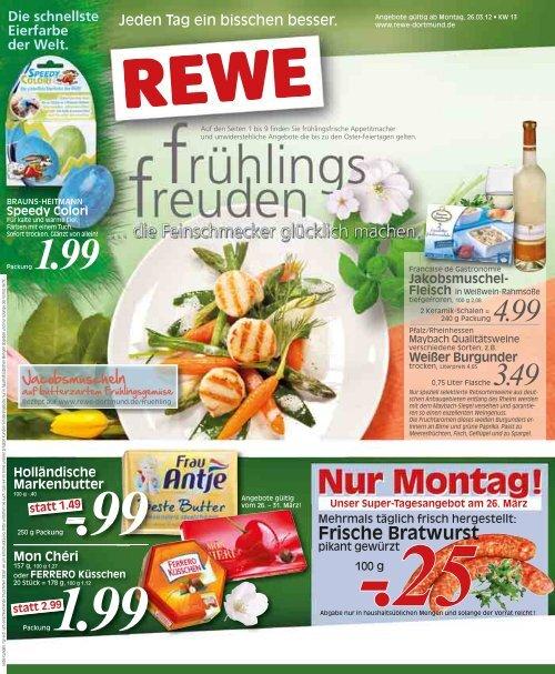 Frische Bratwurst Rewe Dortmund