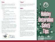 Holiday Decoration Safety Tips - Consumer Product Safety ...