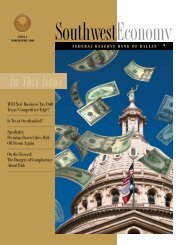 Southwest Economy, Issue 2, March/April 2008 - Federal Reserve ...