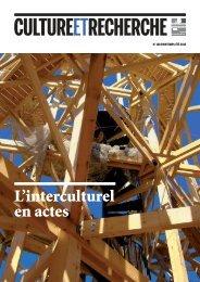 Culture et Recherche 128 - Culture & Démocratie