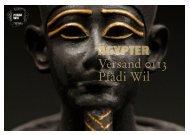 Ägypter - Pfadi Wil