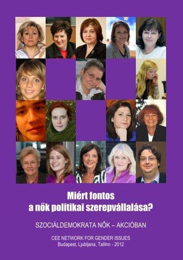 Miért fontos a nők politikai szerepvállalása? - Gurmai Zita