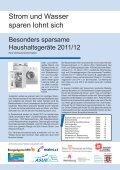 Empfehlenswerte Haushaltsgeräte 2011/2012 - Rewag - Seite 3