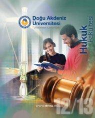 Öğrenci Adayları - Doğu Akdeniz Üniversitesi Hukuk Fakültesi