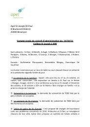 Apel St Joseph/St Paul 8 Boulevard Diderot 25000 Besançon ...