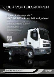 Aktion - DER VORTEILS-KIPPER - EBB Truck Center GmbH
