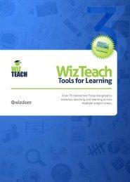 Lees meer over de interactieve WizTeach software - Media Office